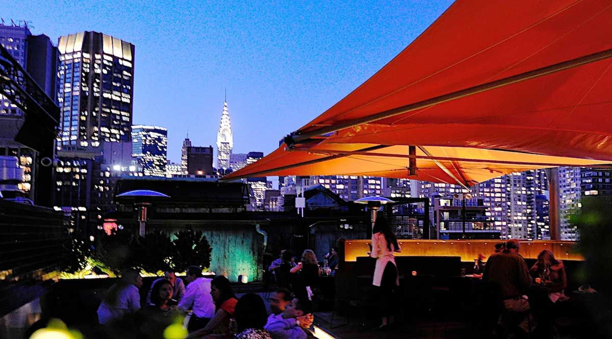 Roof At Park South City Views Rooftop Venue Park South Nyc Rooftop