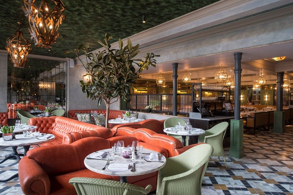 I Would Like To Try Diffe Types Of Food London Has Offer The Ivy Chelsea Garden