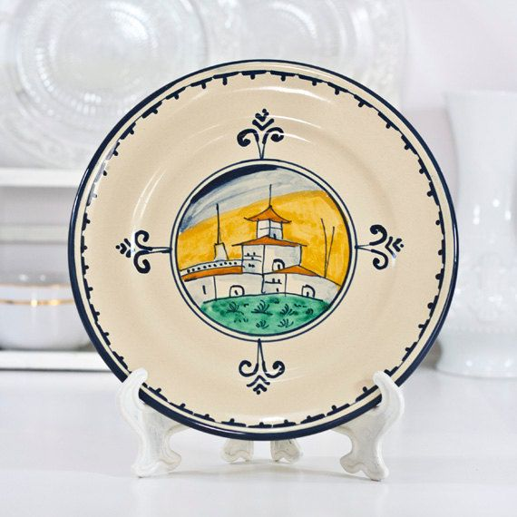 Italy Majolica Plate Italian Decorative Wall by CozyTraditions $56.00  sc 1 st  Pinterest : italian decorative wall plates - Pezcame.Com