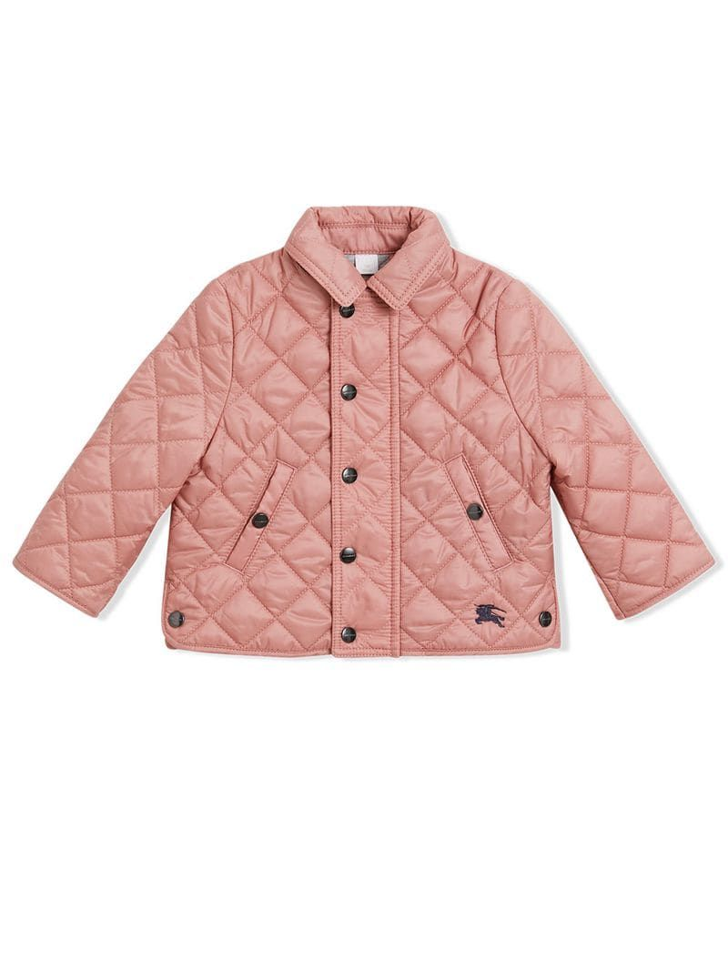 Burberry Brit Women S Vintage Rose Quilted Jackets Size L New With Tags Never Used Quilted Diamond Casual Quilted Jacket Burberry Brit Jacket Burberry Brit