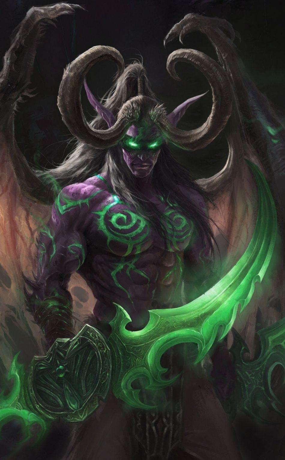 Night Elves World Of Warcraft Art 950x1534 Wallpaper World Of