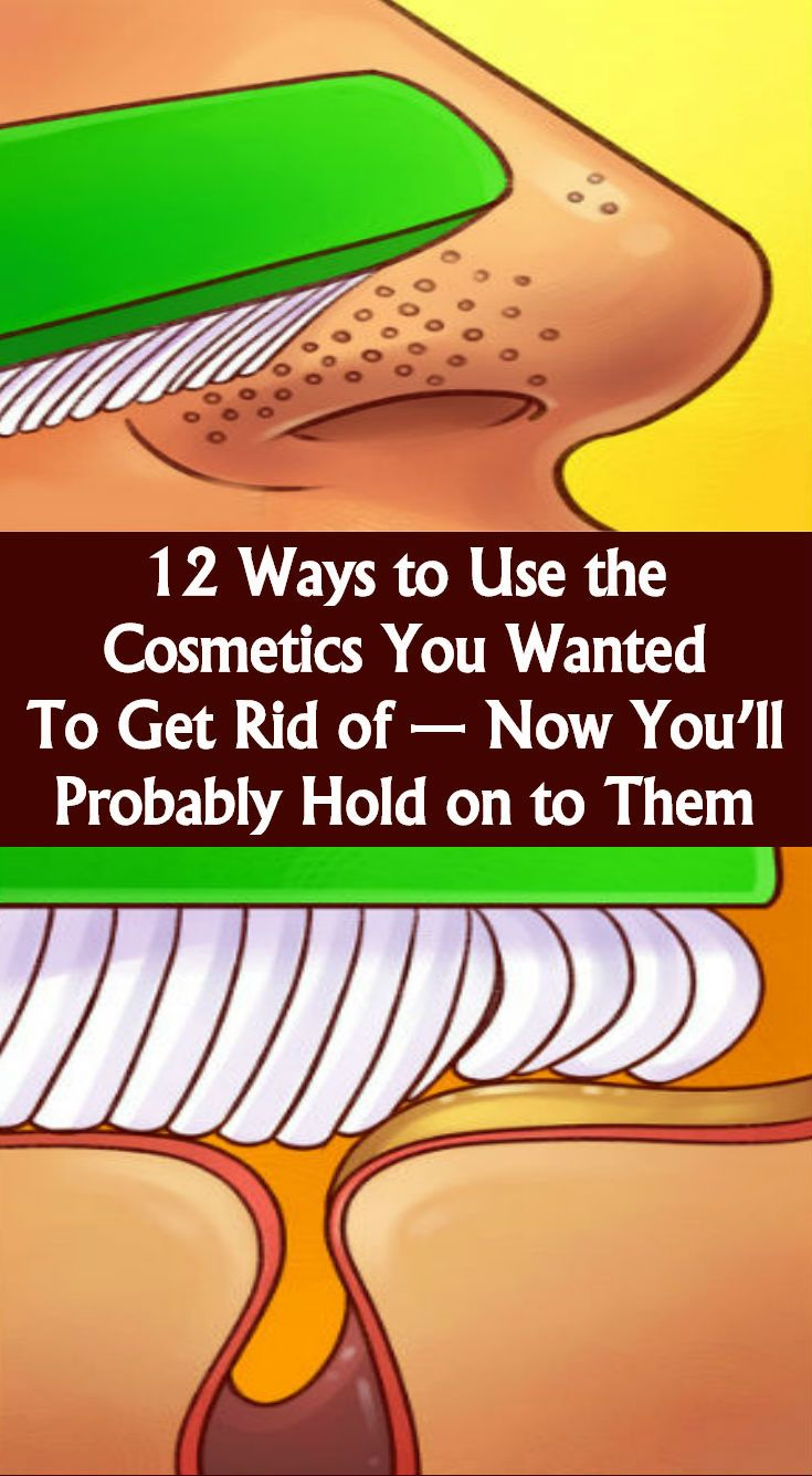 12Ways toUse the Cosmetics You Wanted toGet Rid of— Now You'll Probably Hold ontoThem