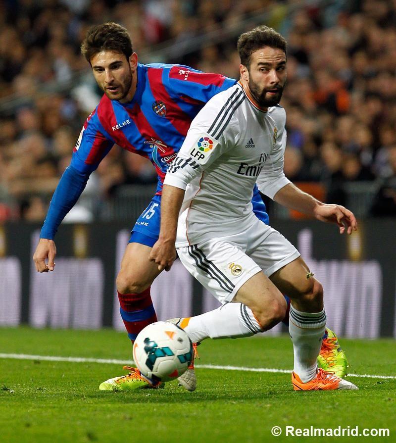 Real Madrid 3-0 Levante #HalaMadrid
