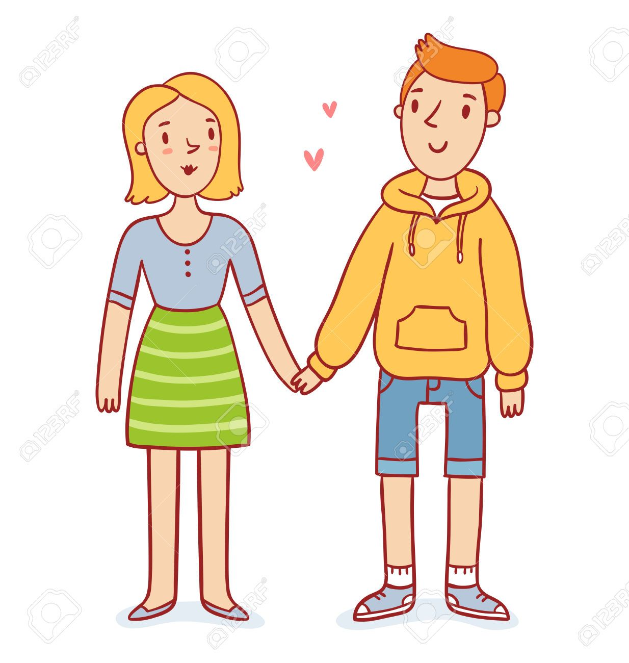 Couple holding hands cartoon google search