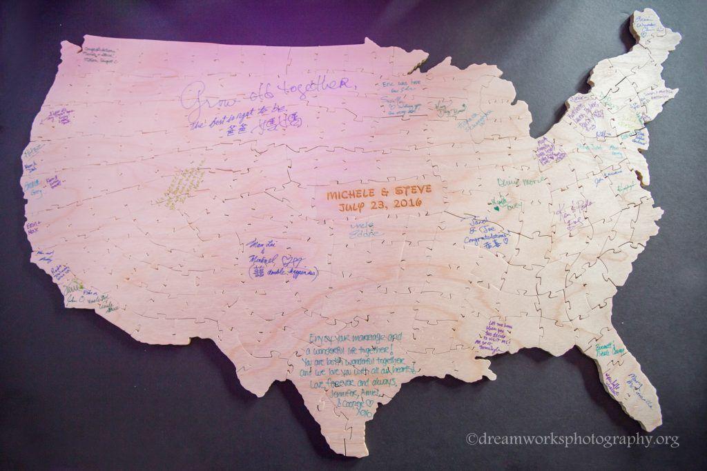 WASHINGTON DC MAP Gicle Fine Art Print