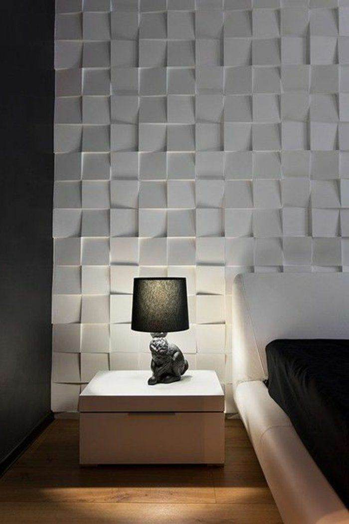 le panneau mural 3d un luxe facile avoir projets essayer pinterest. Black Bedroom Furniture Sets. Home Design Ideas