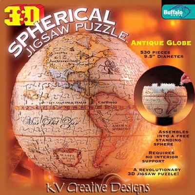 2499 new 3d spherical antique globe world map jigsaw puzzle 530 globe 2499 new 3d spherical antique globe world map jigsaw puzzle gumiabroncs