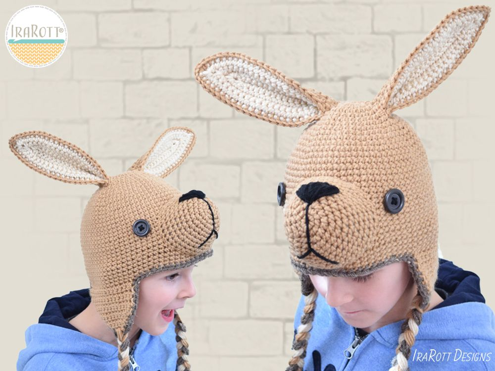 Exciting news - Kangaroo Joey Hat PDF Crochet Pattern by  IraRott has  returned! 21a72b642f8b