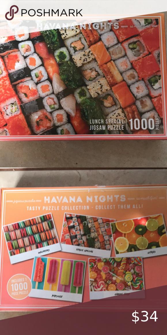 1000 pc puzzle havana nights new | Havana nights, Havana ...