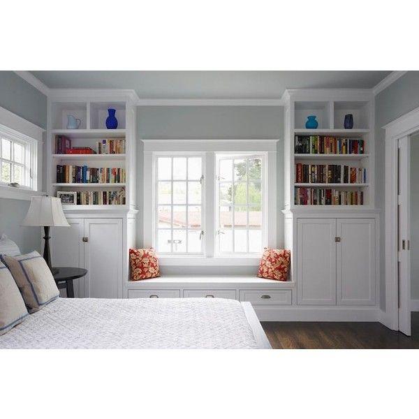 Bedroom Bookshelves Bedroom Colors Benjamin Moore Peppa Pig Bedroom Accessories Black Glitter Wallpaper Bedroom: Bedroom Window Seat- Traditional