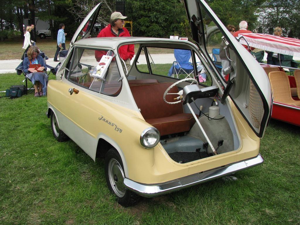 The Ten Biggest Car Failures - 10. 1958 Zunndapp Janus. | Worst of ...