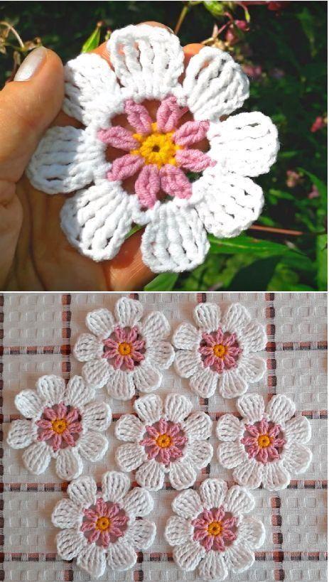 #Anleitung  #Einfache  #FlowerVideo  #häkeln  #zum #Anleitung #Flower-Video ❤ ❤ Einfache Anleitung zum Flower-Video häkeln -