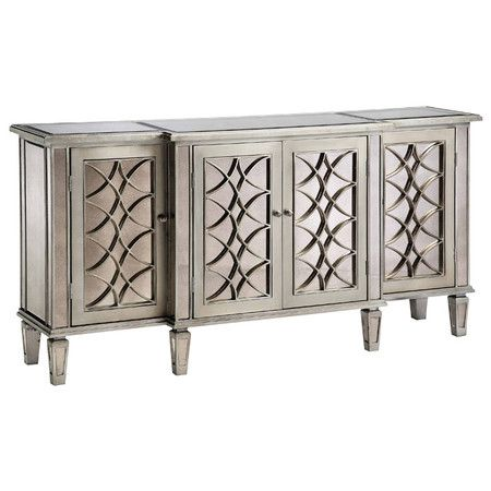 Ballistra Sideboard Furniture Mirrored Credenza Mirrored Sideboard