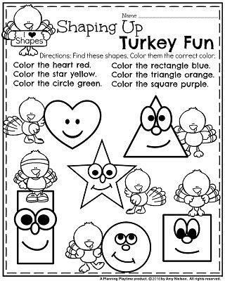 November Preschool Worksheets Turkey Shapes Thanksgiving Worksheets Preschool Thanksgiving Worksheets Thanksgiving Activities Preschool Preschool thanksgiving activity sheets