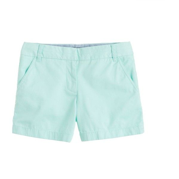 """J.Crew 4"""" chino short ($45) ❤ liked on Polyvore"""