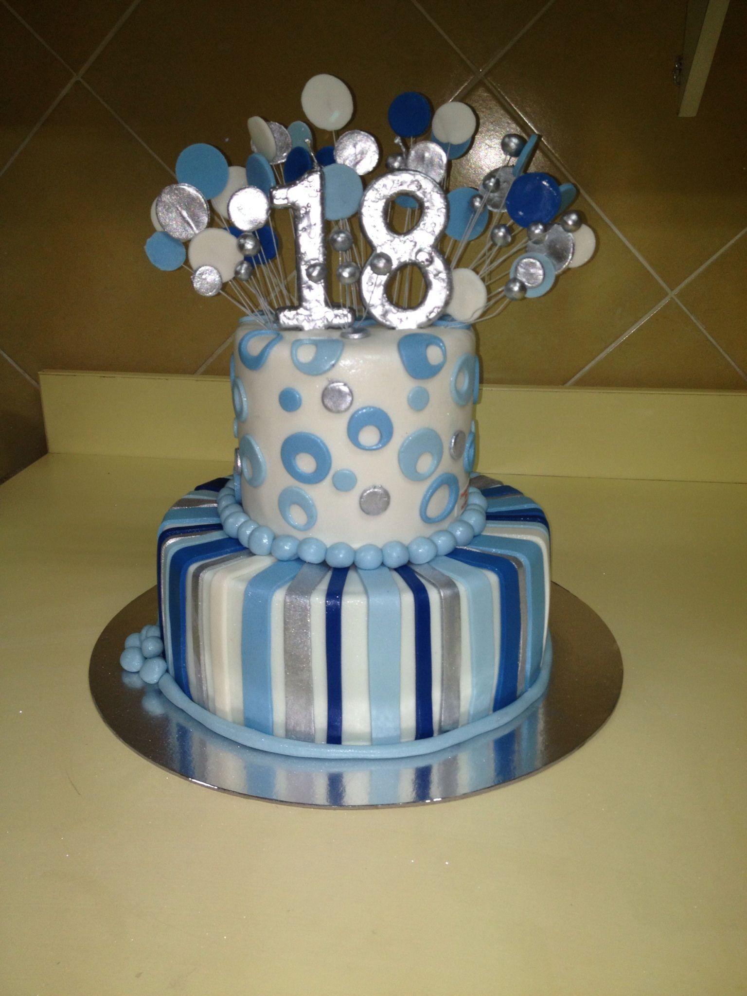 torte za 18 rodjendan za decake