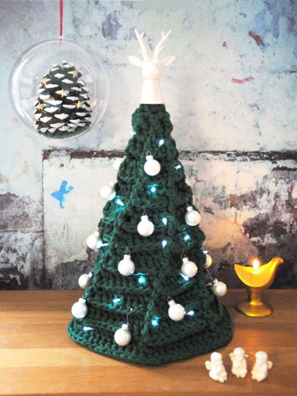 tuto sapin vert zpagetti crochet no l no l crochet. Black Bedroom Furniture Sets. Home Design Ideas