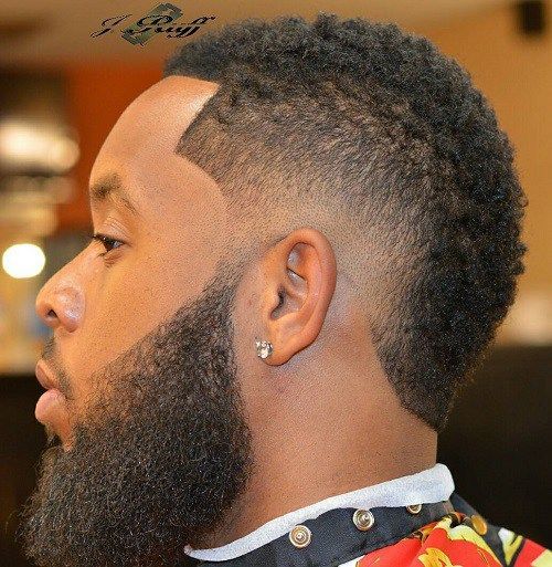 stylish fade haircuts black