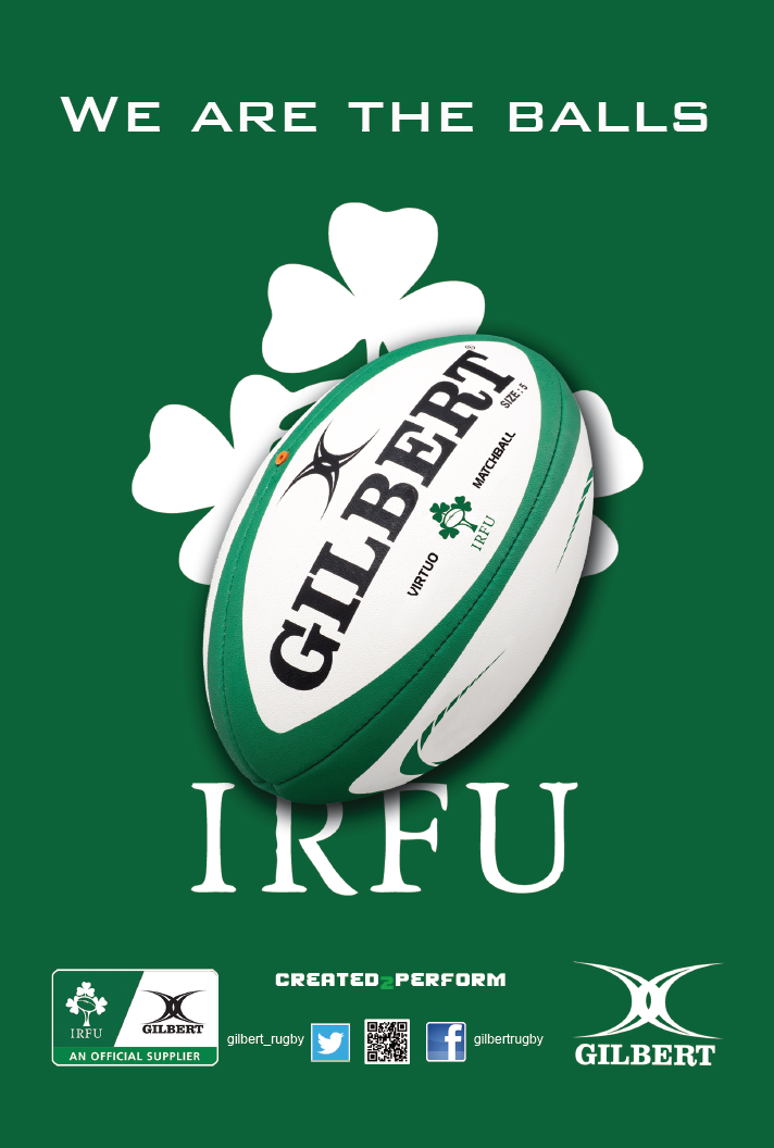 IRFU Ireland advertising 2014