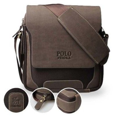 bolsa carteiro moderna Polo masculina   Coisa de Homem   Bolsa ... 8c4a5495aa