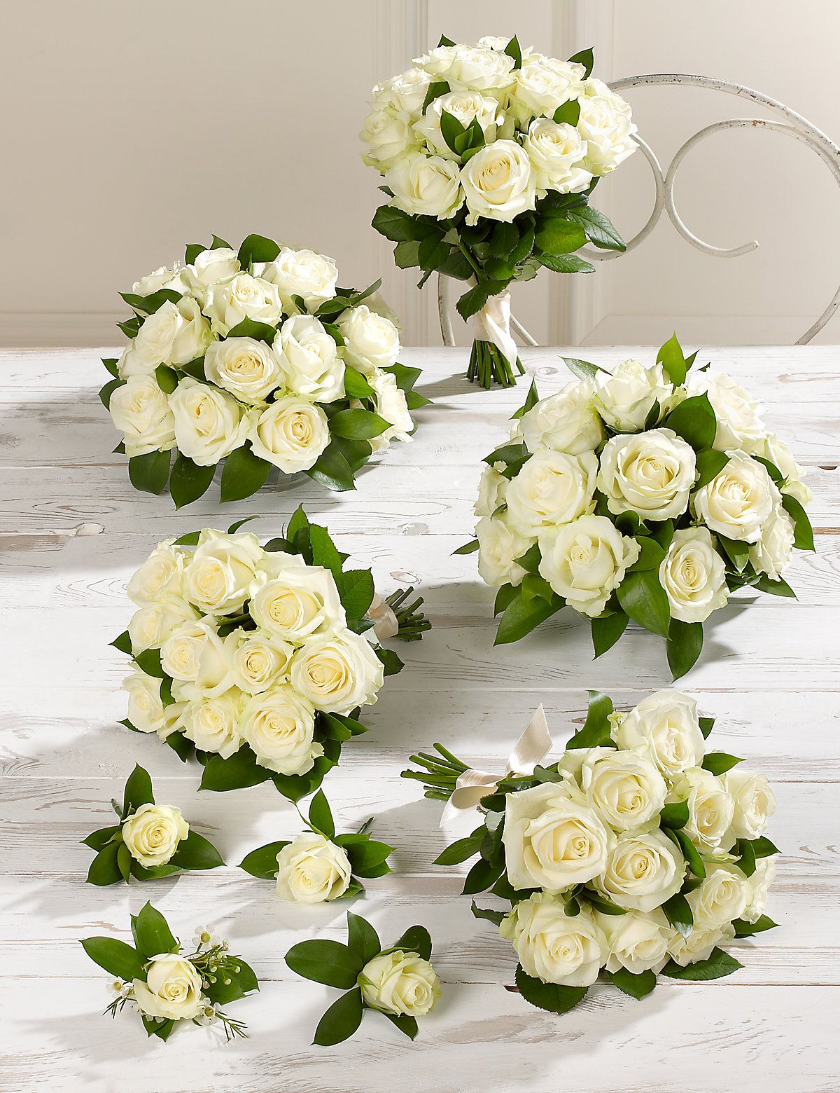 White Wedding Luxury Rose Collection 3 | MS