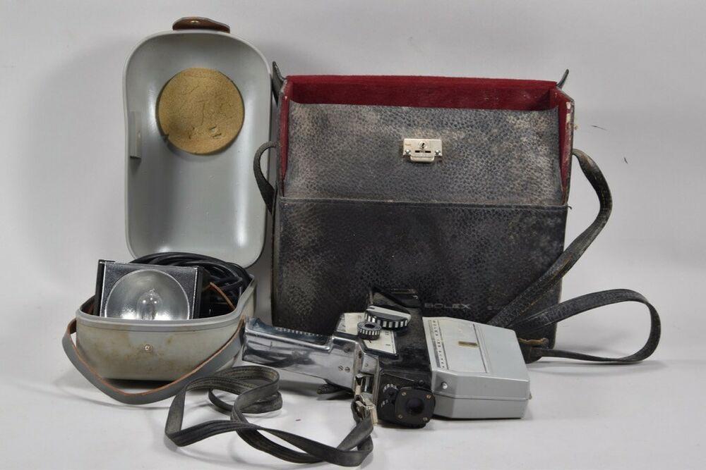 Ebay Sponsored A18d12 Alte Bolex Paillard 155 Super Filmkamera