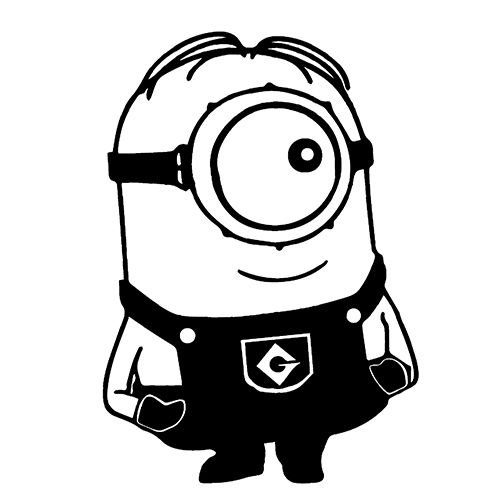 Characters Archives Page Of Decals Stickers Vinyl - Minion custom vinyl decals for car