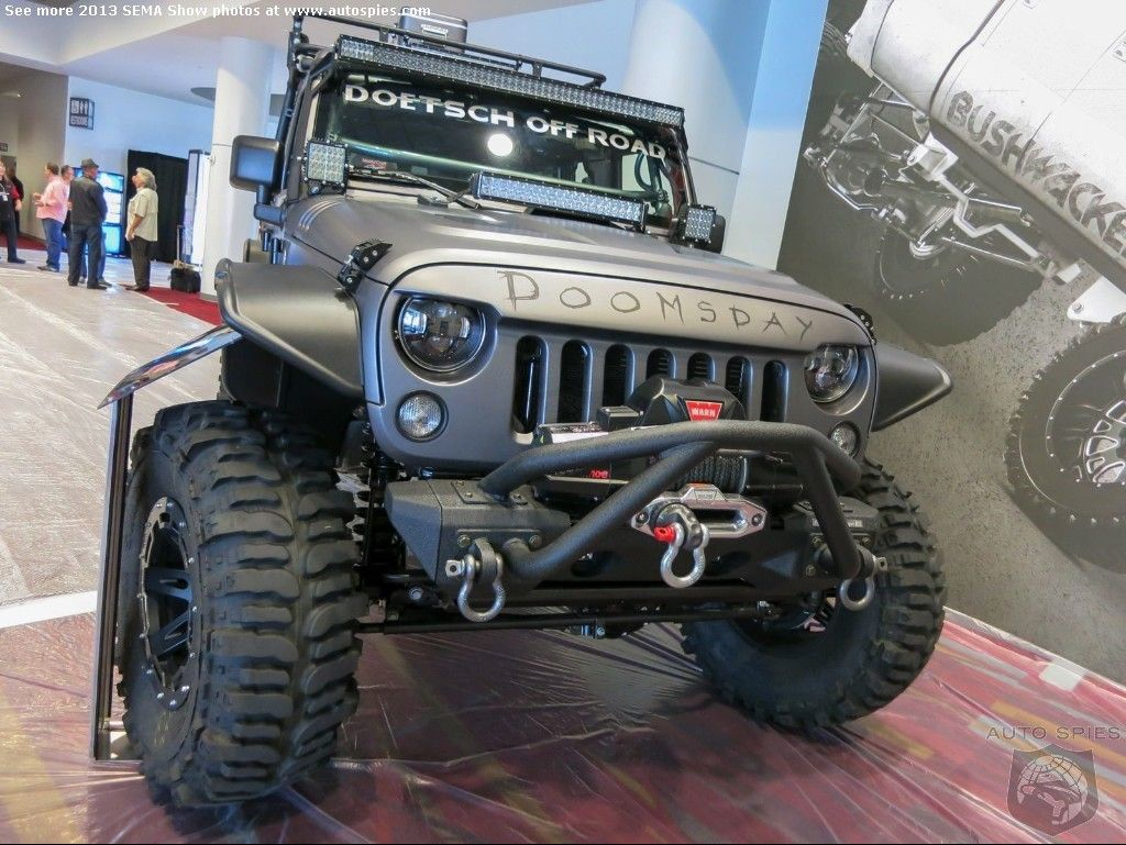 Doomsday Jeep At SEMA