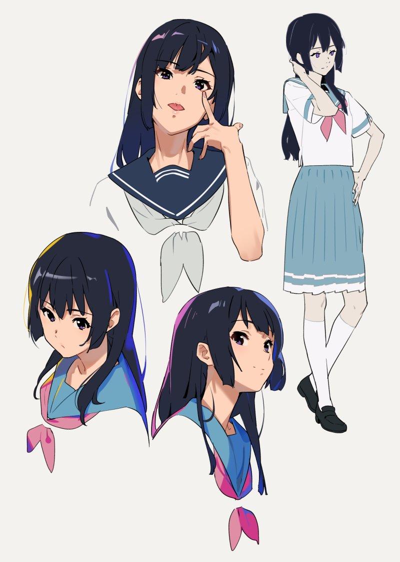 かも仮面 on twitter anime character design character design sketches character design