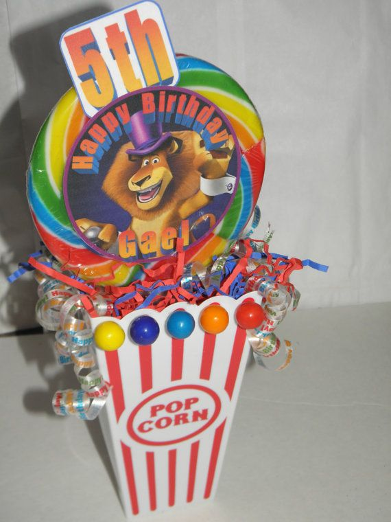 Madagascar 3 Circus Carnival Theme Party By Flowers130 On Etsy 1800