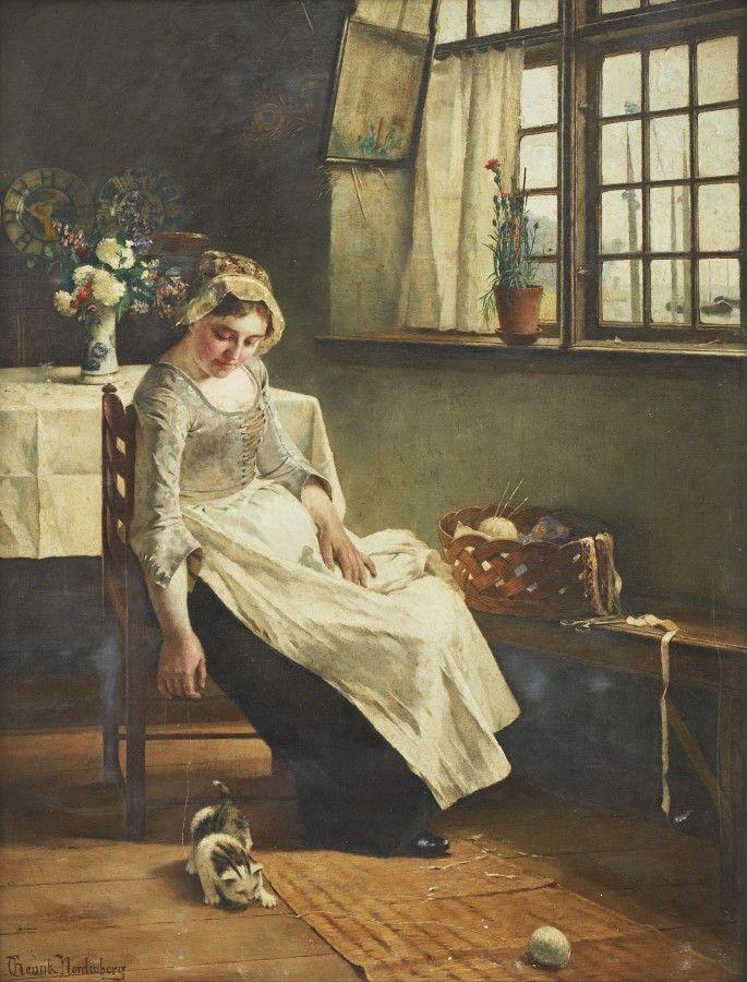 Dlya Teh Kto Vyazhet Nordic Art Female Art European Art