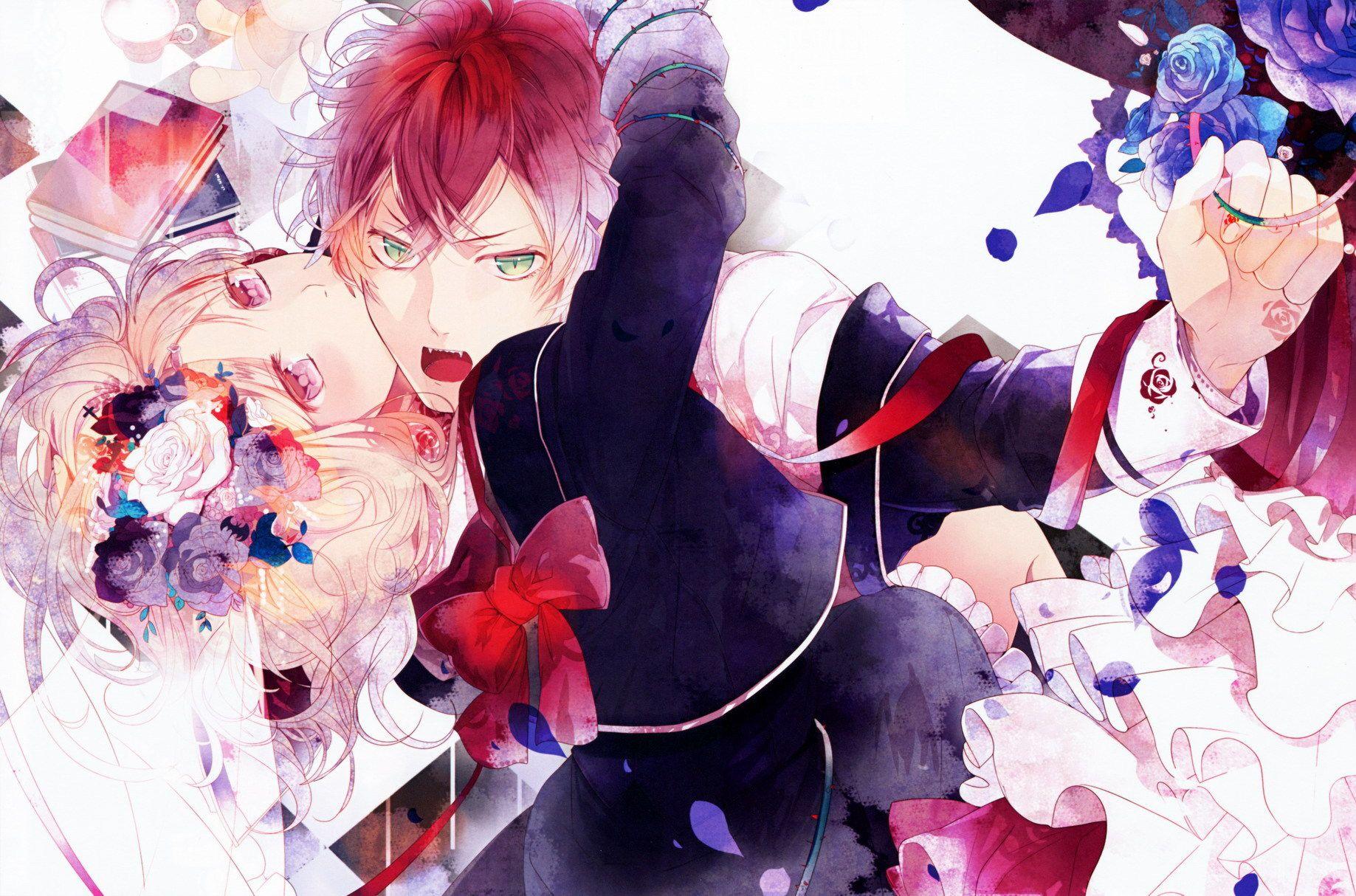 Image Diabolik Lovers Komori Yui Sakamaki Ayato Hd Wallpaper