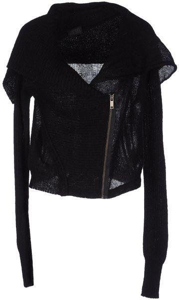 Diesel Black Cardigan #black style #fashion