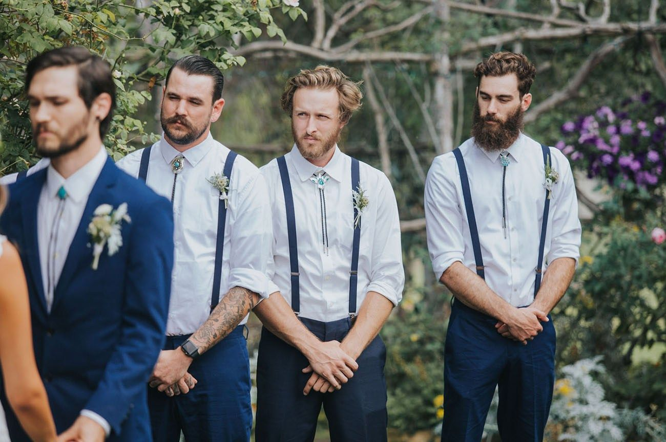 Everything You Need to Know About Suspenders Groom