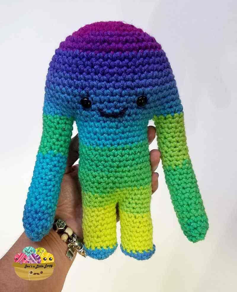 Hugamonster Crochet Pattern   Baños y Tejido