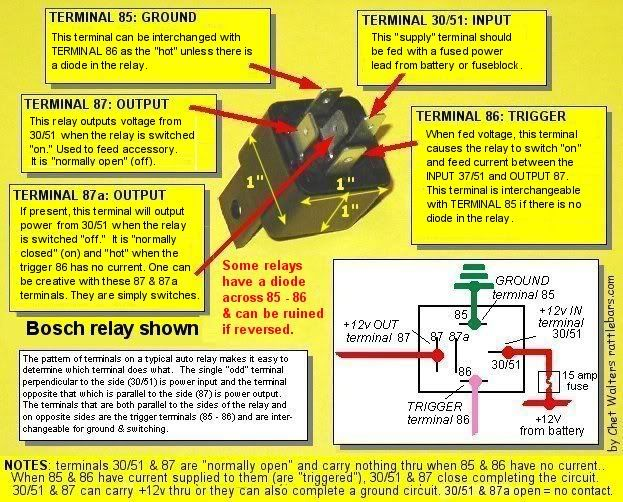 06 Tiger Twin Headlamp Relay Question Page 5 Triumph Forum Triumph Rat Motorcycle Forums Motorcycle Wiring Relay Automotive