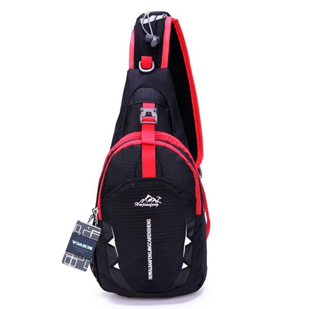 Multi-functional Shoulder Sling Bag Cross Body Chest Pack Hiking Cycling Bag