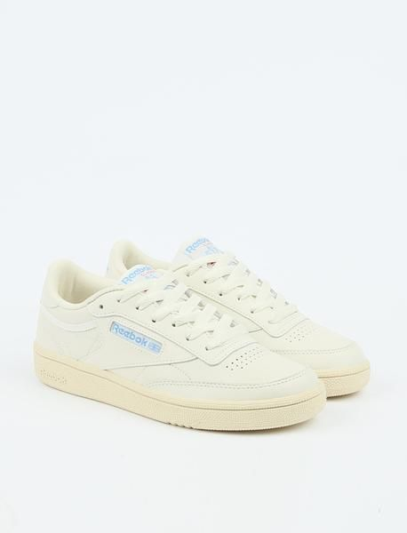 f69230d5add Reebok s Club C 85 Vintage makes a return in the beautiful Athletic Blue.  Made from a leather upper