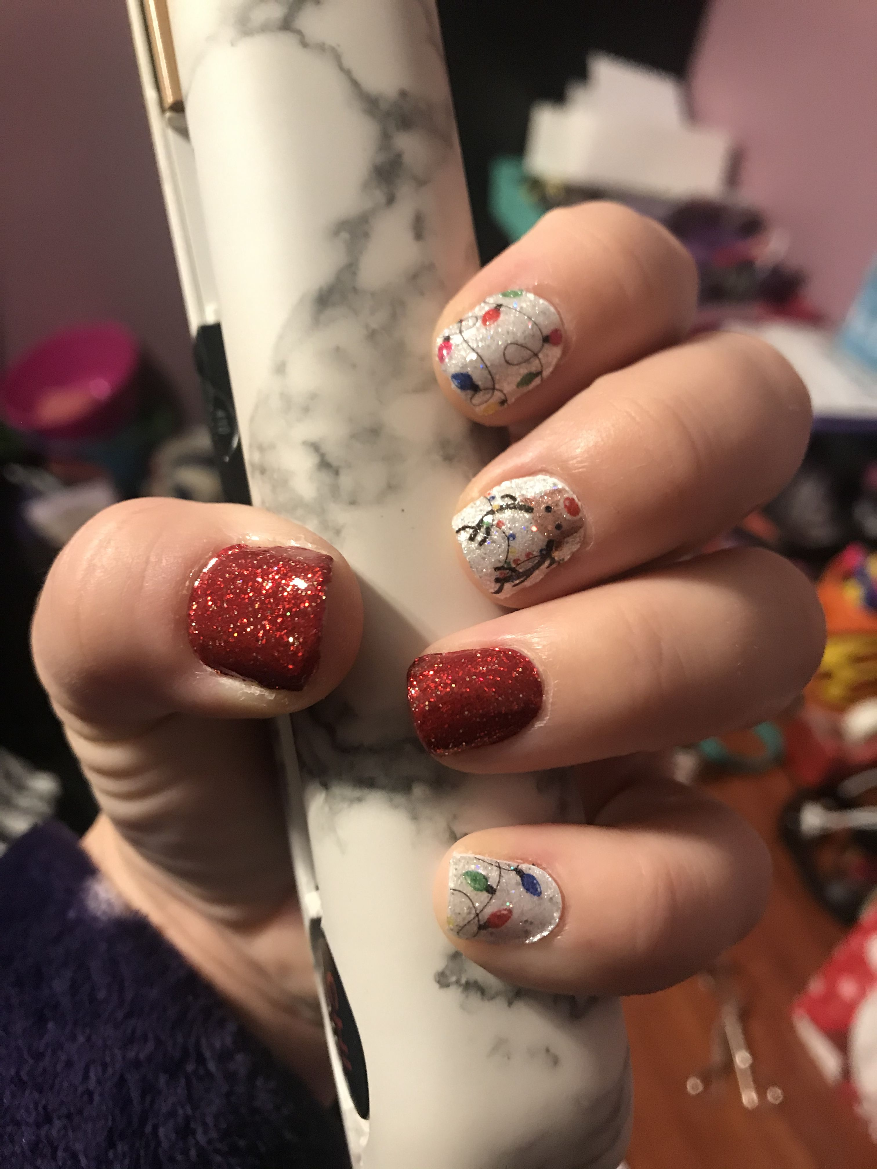 When Are Color Street Christmas Nails 2020 Christmas Nails in 2020 | Color street nails, Christmas nails