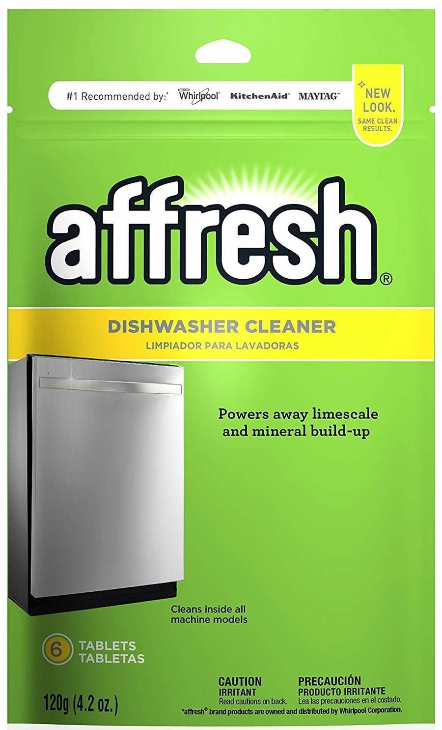 how to clean whirlpool washer with affresh
