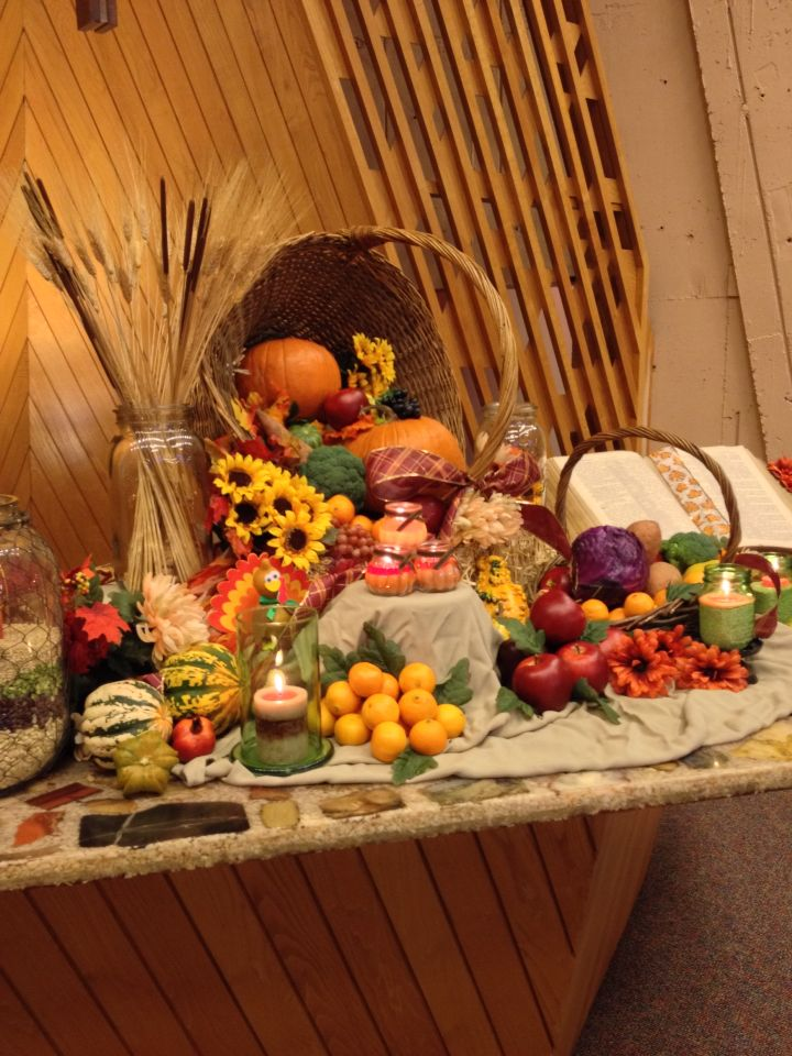 Harvest Altar Thanksgiving 2014
