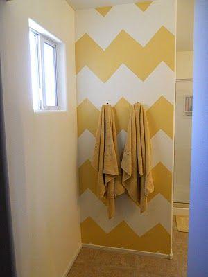 chevron wall tutorial
