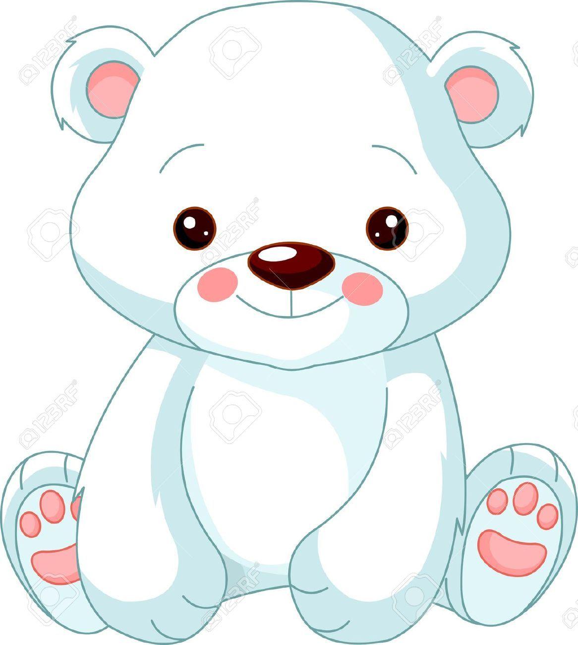 Resultado de imagen para osos polares animados  dibujos de