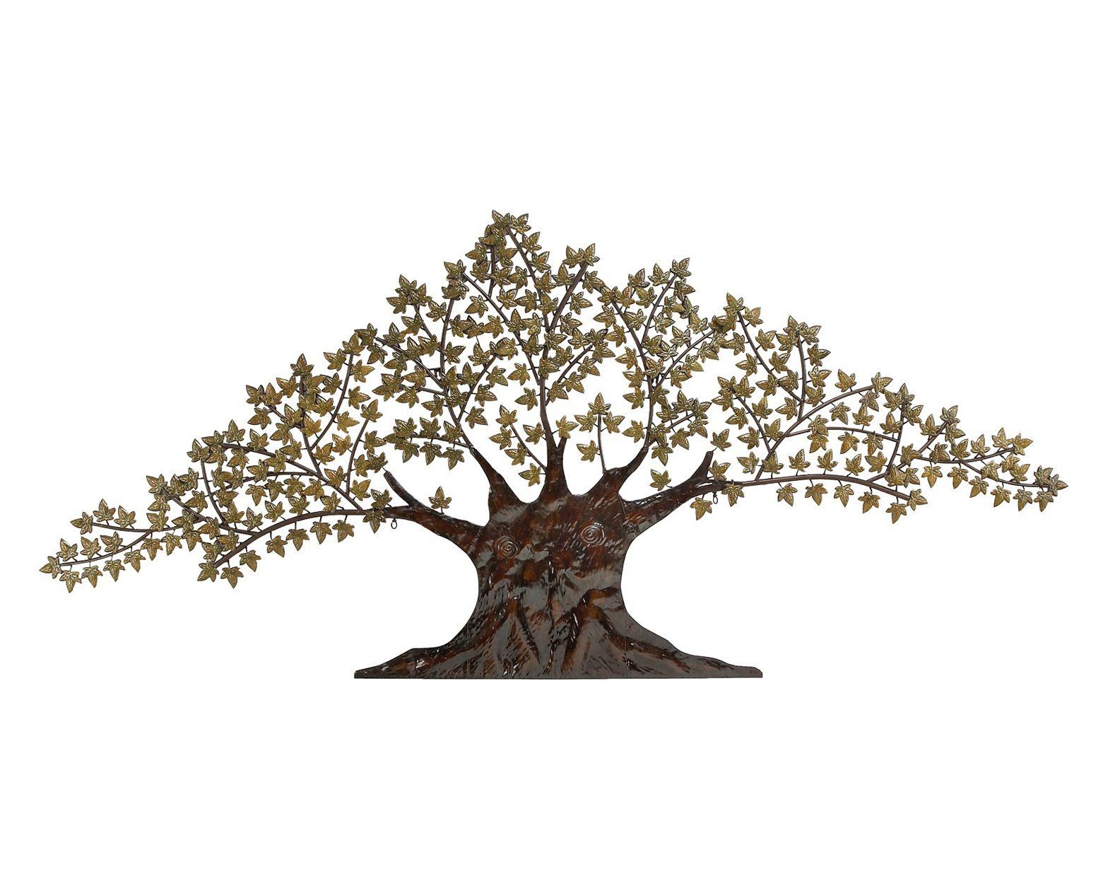 Large Metal Tree Wall Hanging Material Metal Weight 14Lbsmounting Hardware Hanging Keyholes