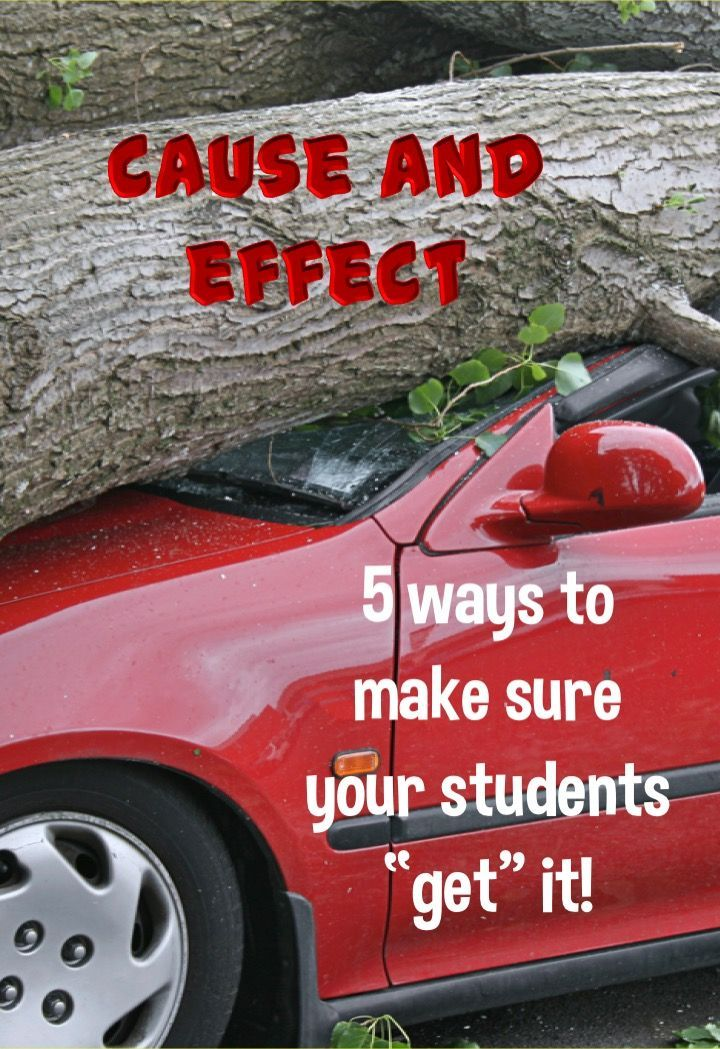 Cause And Effect 5 Ways To Make Sure Your Students Quot Get