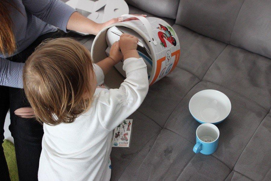 Ab wann Kindergeschirr aus Porzellan - My Mini Sunny Day Geschirr - porzellan geschirr geschenk