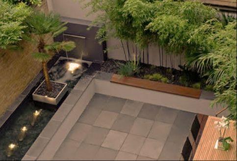 Jardines peque os de casas minimalistas buscar con for Ideas de jardines interiores