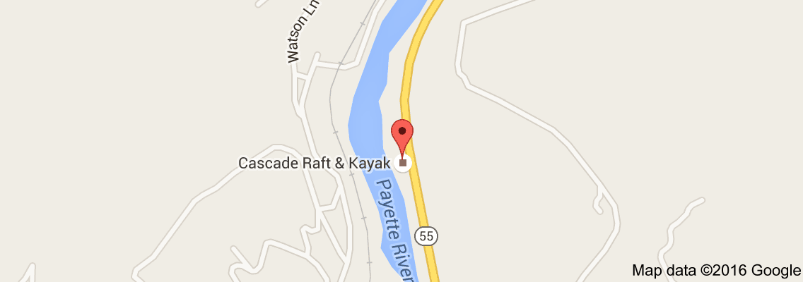 Map of Cascade Raft Co | Travels | Cascade mountains, Rafting, Map Cascade Idaho Map on