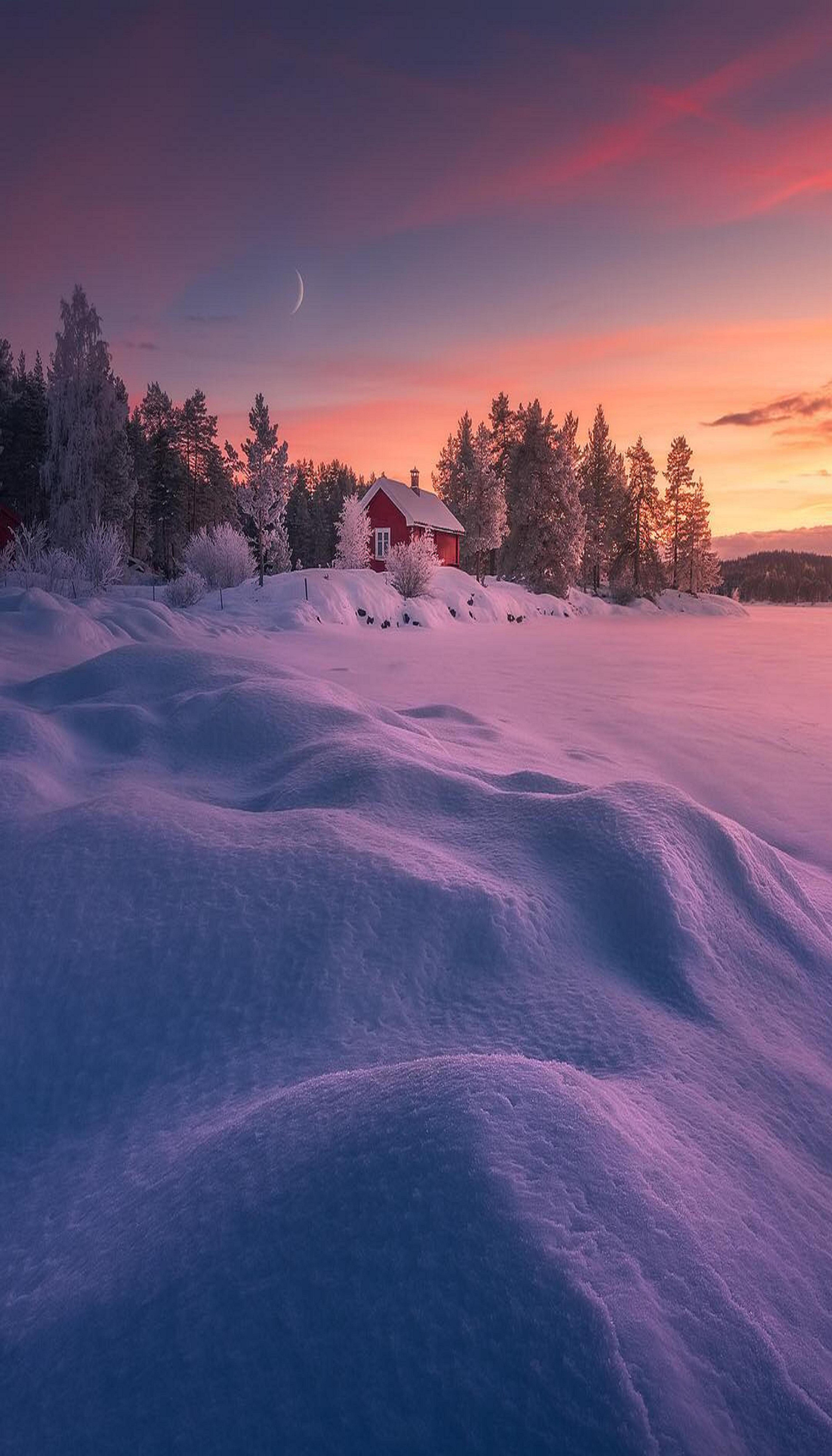 Norway Winter Scenery Winter Landscape Winter Scenes