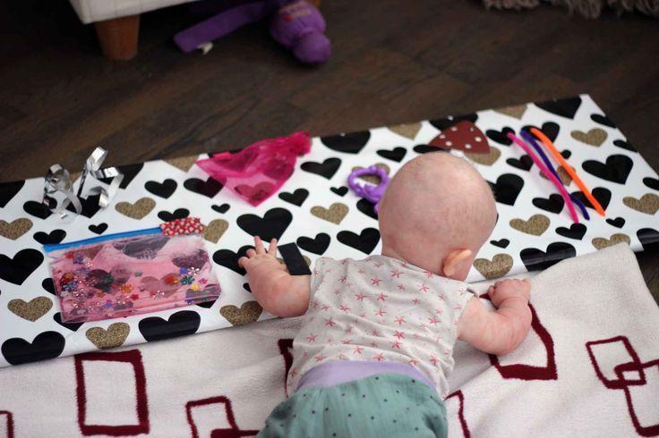 Baby-Spielkonsole bzw. sensorisches Integrationsbrett in ...